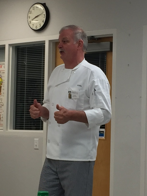 Cold Foods in the Classroom with Karl