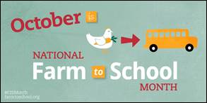 October National Farm to School Month