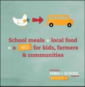 School meals + local food = a win for kids, farmers & communities