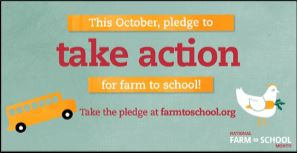 This October, pledge to take action for Farm to School!